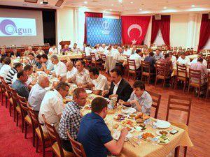 Konya bürokratları MÜSİADda iftarda buluştu