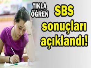 2012 SBS sonuçları açıklandı