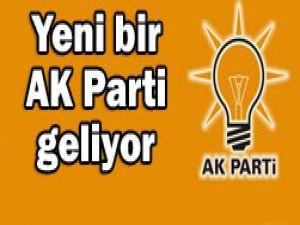 AK Parti yapılandırılıyor