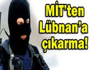 MİT, 20 kişilik özel ajanla Lübnanda
