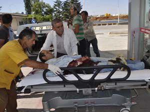 Seydişehirde kaza: 1 yaralı