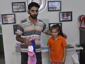 """""""Suriyeli çocukların yüzü gülsün istiyorum"""""""