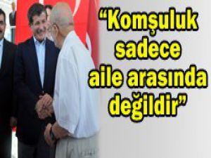 Ahmet Davutoğlu Konyada