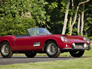 1960 model Ferrariye 11 milyon dolar