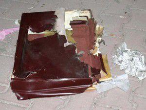 Konya Tren hattında şüpheli çanta