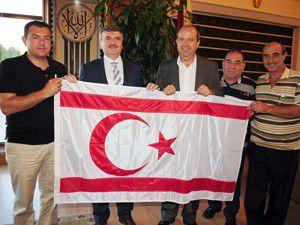 KKTC Maliye Bakanı Konyada