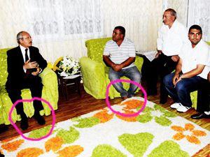 Dindar CHPyi ayakkabı vurdu?