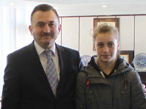 Beyşehirli Zeliha Türkiye şampiyonu