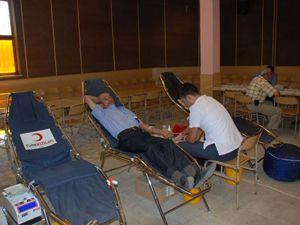 Kızılay 2 günde 95 ünite kan topladı
