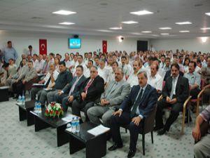 Konya'da Orta Anadolu Havzası tanıtım toplantısı
