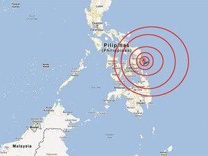 Filipinlerde büyük deprem!
