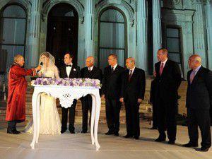 Başbakan Erdoğan nikah şahidi