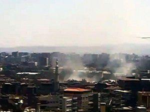 Şamda bombalı saldırı