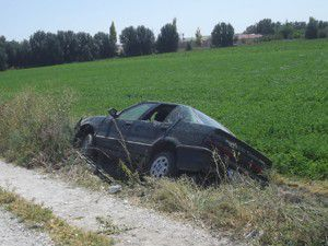 Karapınarda trafik kazası: 1 yaralı