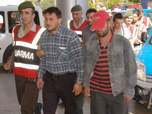 Konyada kaçak kazı yapan 6 kişi yakalandı