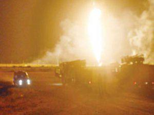 Afyonda askeri cephanelikte patlama