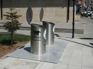 Yerel altı çöp konteynırlarının sayısı arttı