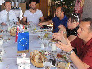 Macaristan heyeti İstanbula hayran kaldı