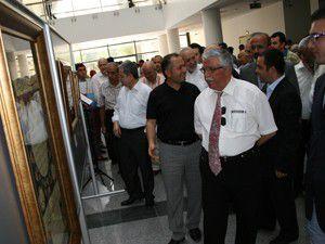 TYBde Fatih Özkafadan hat sergisi