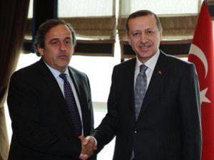 Erdoğanın Platini ile Görüşmesinin Detayları