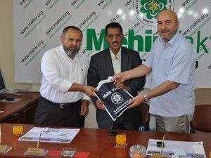 Moritanyalı belediye başkanından Özdemire ziyaret