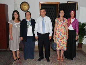 Kadın girişimcilerden Doğan ve Selvi'ye ziyaret