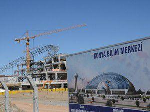 Türkiyenin ilk bilim merkezi yükseliyor