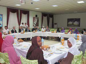 Somalili 21 öğrenci Akşehirde öğrenim görecek