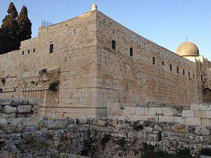 Mescid-i Aksanın duvarı delindi