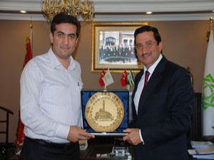 Mustafa Aktan Kalaycıya ziyaret