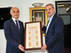 MÜSİAD Genel Başkanı Olpaktan KTBye ziyaret