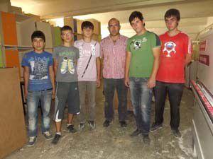 Lise öğrencileri okullarına 600 bin lira ciro yaptırdı