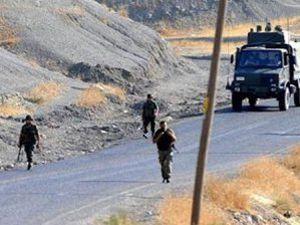 Askeri konvoya pusu: 4 şehit