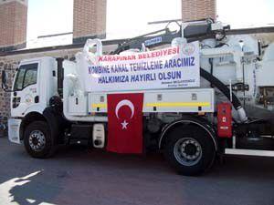 Karapınar Belediyesi araç filosunu genişletiyor