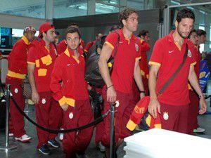 Galatasaray İngiltereye gitti