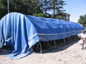 Kimse Yok Mu Derneğinden Vana 200 ailelik çadır