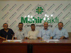 Mehir Vakfı Gazzeli misafirlerini ağırladı