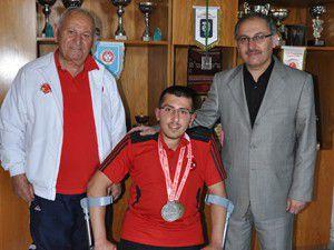 Konyalı milli sporcu gümüş madalya kazandı