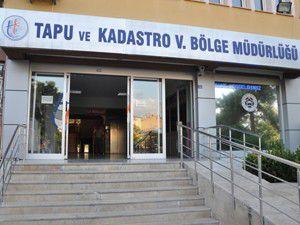 Tapu ve Kadastro Bölge Müdürlü binası yenileniyor