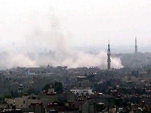 Şam ve Halep bombardıman altında.