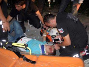 İzne gelen askere ambulans çarptı