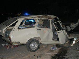 Otobüs ile otomobil çarpıştı: 3 yaralı
