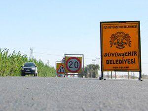 Saraçoğlu Mahallesine 11 kilometrelik asfalt