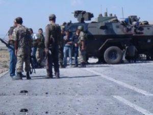 Demirtaşı korumaya giden askere saldırı