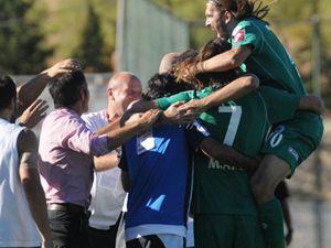Konyasporda galibiyet sevinci