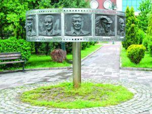 Akşehir Belediyesinden karikatürist büstleri