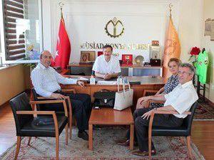 Medicana Sağlık Grubu MÜSİADı ziyaret etti