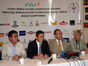 INAS Dünya Bisiklet Şampiyonası Konyada başlıyor.