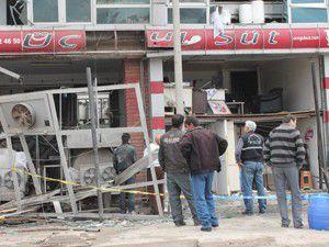 Tunceli kent merkezinde patlama