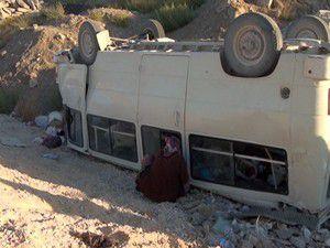 Tarım işçileri kaza yaptı: 17 yaralı